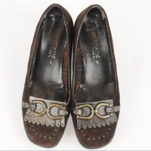 Aquatalia -  Wedge Heels Loafers - Size 6